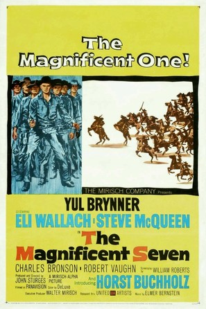 The Magnificent Seven - Movie Poster (thumbnail)