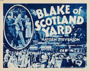 Blake of Scotland Yard - Movie Poster (thumbnail)