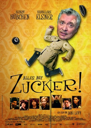 Alles auf Zucker! - German Movie Poster (thumbnail)