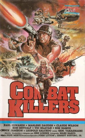 Combat Killers - Movie Cover (thumbnail)
