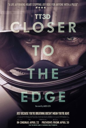 TT3D: Closer to the Edge - British Movie Poster (thumbnail)