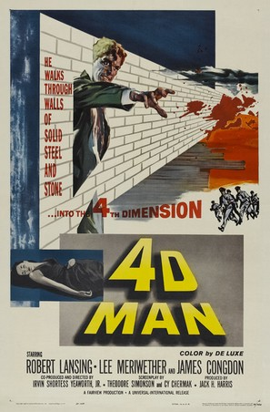4D Man - Theatrical poster (thumbnail)