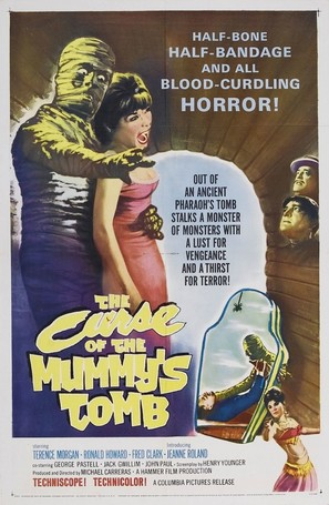 The Curse of the Mummy's Tomb - Movie Poster (thumbnail)
