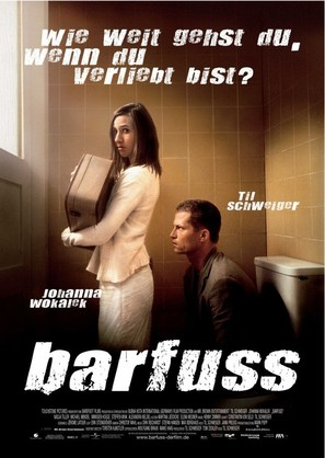 Barfuss - German Movie Poster (thumbnail)