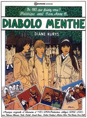Diabolo menthe - French Movie Poster (thumbnail)