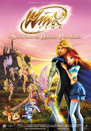 Winx club - Il segreto del regno perduto - Italian Movie Poster (thumbnail)