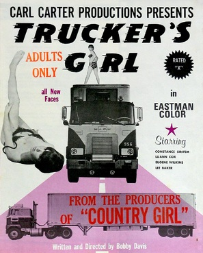 Trucker's Girl - Movie Poster (thumbnail)