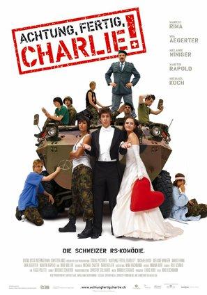 Achtung Fertig Charlie - Swiss Movie Poster (thumbnail)