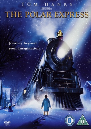 The Polar Express - British DVD movie cover (thumbnail)
