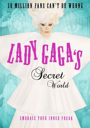 Lady Gaga: One Sequin at a Time - Swedish Movie Poster (thumbnail)