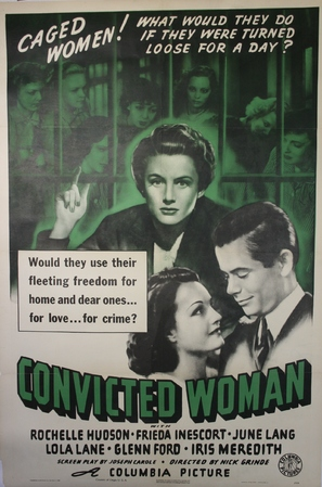Convicted Woman - Movie Poster (thumbnail)