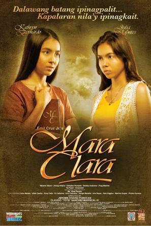 """Mara Clara"" - Philippine Movie Poster (thumbnail)"