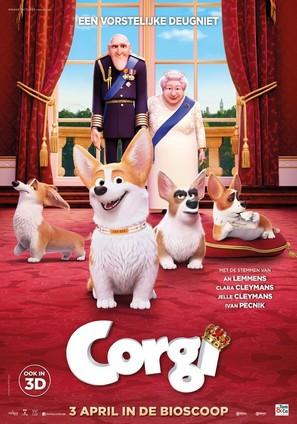 The Queen's Corgi - Belgian Movie Poster (thumbnail)