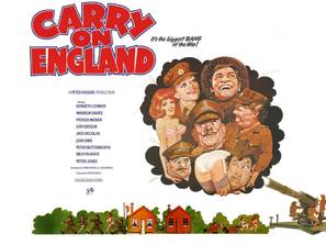 Carry on England - British Movie Poster (thumbnail)