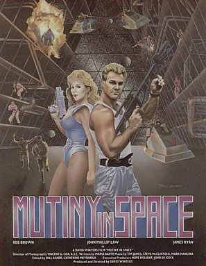 Space Mutiny - Movie Poster (thumbnail)