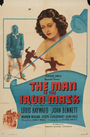 The Man in the Iron Mask - Re-release movie poster (thumbnail)