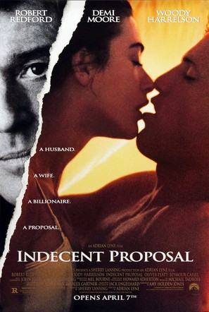 Indecent Proposal - Movie Poster (thumbnail)