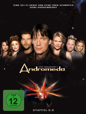"""Andromeda"" - German DVD movie cover (thumbnail)"