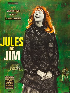Jules Et Jim - French Movie Poster (thumbnail)
