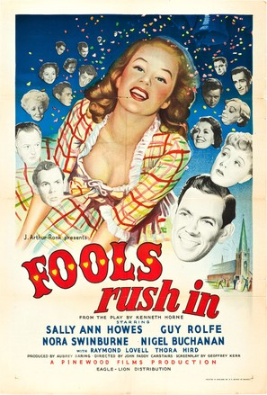 Fools Rush In - British Movie Poster (thumbnail)
