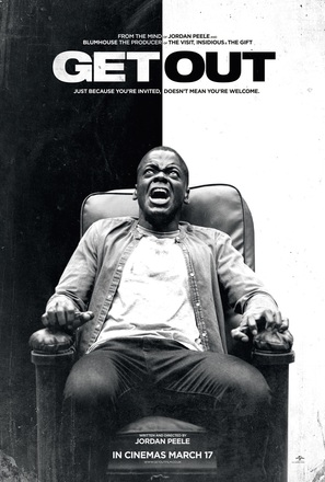 Get Out - British Movie Poster (thumbnail)