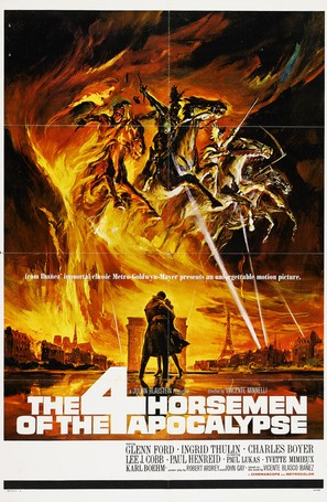 The Four Horsemen of the Apocalypse - Movie Poster (thumbnail)