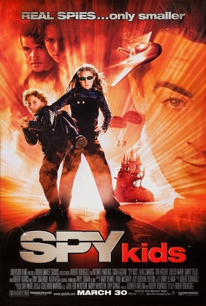 Spy Kids - Movie Poster (thumbnail)