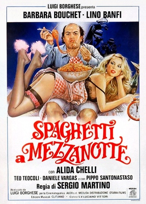 Spaghetti a mezzanotte - Italian Theatrical poster (thumbnail)