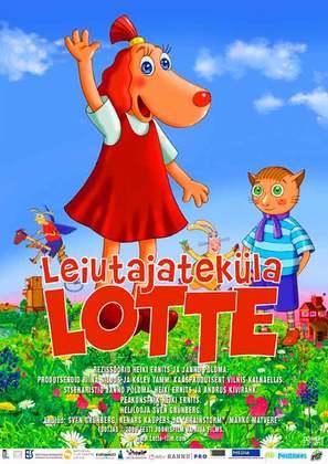 Leiutajateküla Lotte - Estonian Movie Poster (thumbnail)