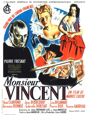Monsieur Vincent - French Movie Poster (thumbnail)