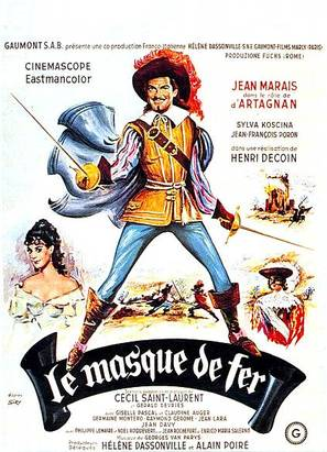 Masque de fer, Le - French Movie Poster (thumbnail)