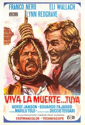 ¡Viva la muerte... tua! - Spanish Movie Poster (thumbnail)