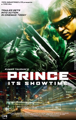 Prince: Its Showtime - Indian Movie Poster (thumbnail)