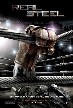 Real Steel - Movie Poster (thumbnail)