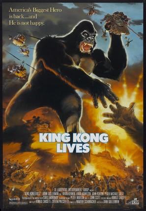 King Kong Lives - Movie Poster (thumbnail)