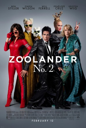 Zoolander 2 - Theatrical movie poster (thumbnail)