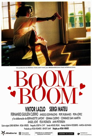 Boom boom - Spanish Movie Poster (thumbnail)