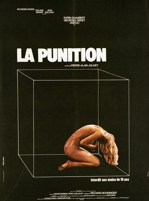 La punition - French Movie Poster (thumbnail)