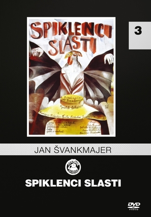 Spiklenci slasti - Czech DVD cover (thumbnail)