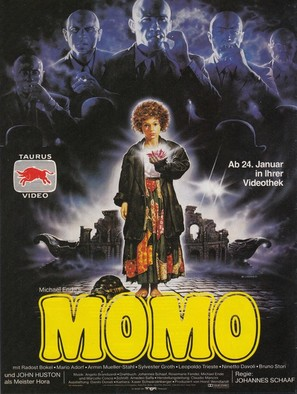 Momo - German Video release movie poster (thumbnail)