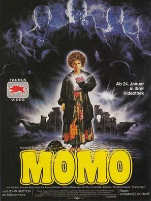 Momo - German Video release poster (thumbnail)