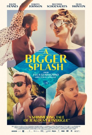 A Bigger Splash - British Movie Poster (thumbnail)