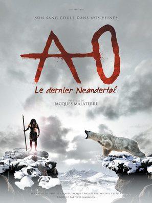 Ao, le dernier Néandertal - French Movie Poster (thumbnail)