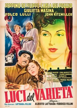 Luci del varietà - Italian Movie Poster (thumbnail)