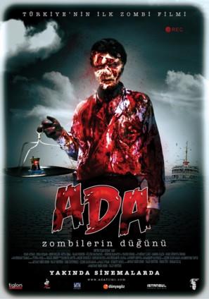 Ada: Zombilerin dügünü - Turkish Movie Poster (thumbnail)