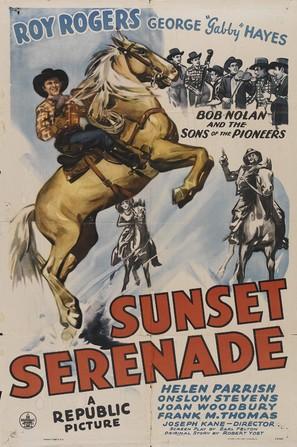 Sunset Serenade - Movie Poster (thumbnail)