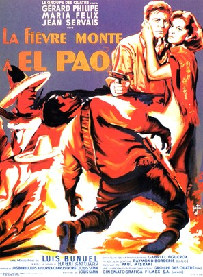 Fièvre monte à El Pao, La - French Movie Poster (thumbnail)