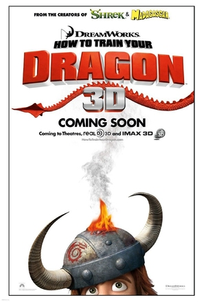 How to Train Your Dragon - Movie Poster (thumbnail)