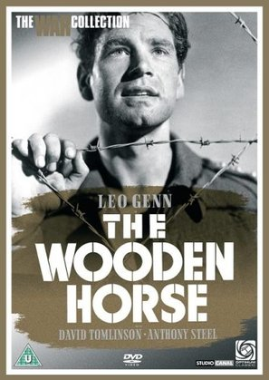 The Wooden Horse - British DVD cover (thumbnail)