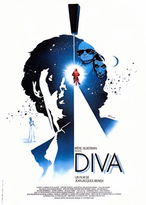 Diva - French Movie Poster (thumbnail)